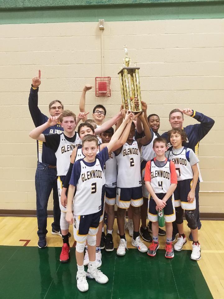 Glenwood Middle School HCYP Boys JV MS Champions 2019!