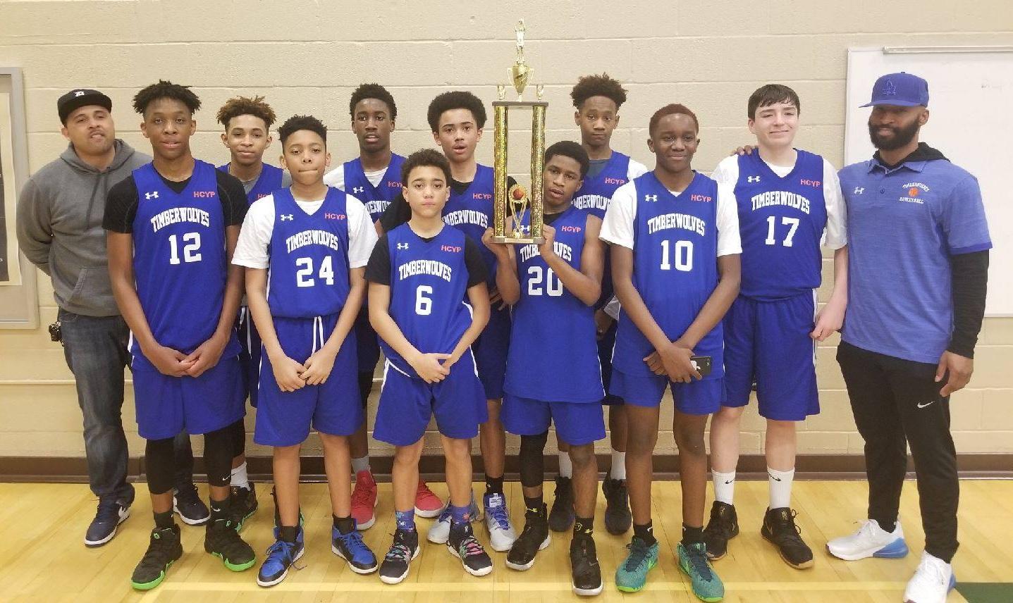 Thomas Viaduct Middle School HCYP Boys Varsity MS Champions 2019!