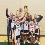 Boys Middle School JV Champs 2019: Glenwood Middle School.